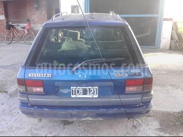 Renault 21 TXE Nevada 7 Asientos usado (1993) color Azul precio $40.000