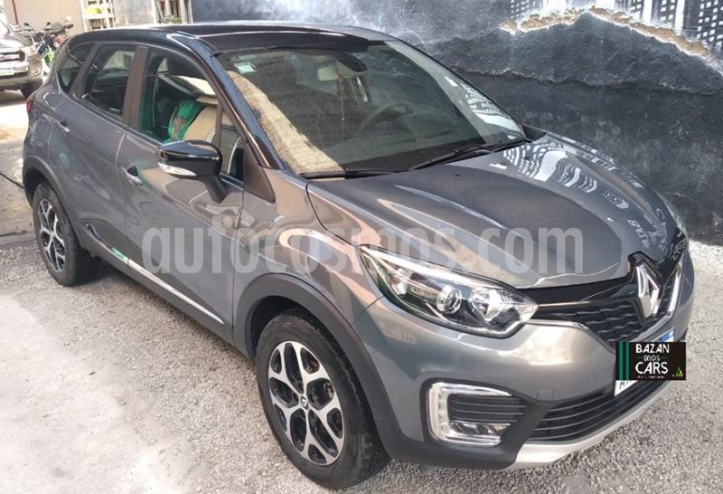 Renault Captur Intens usado (2017) color Gris Oscuro precio $1.400.000