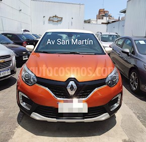 Renault Captur Intens usado (2017) color Naranja precio $909.900
