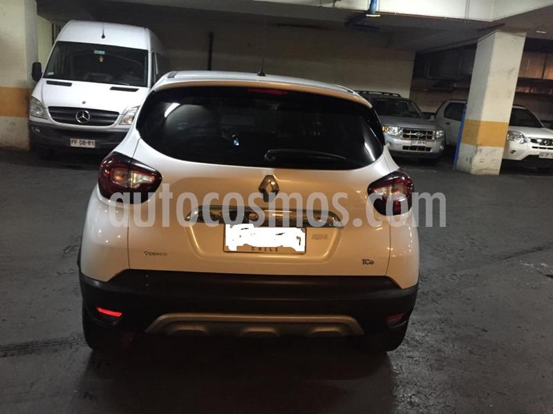 Renault Captur 1.2L Intens Turbo Aut  usado (2018) color Blanco precio $7.900.000