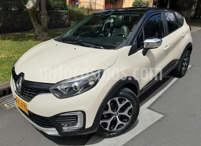Renault Captur 2.0L Intens Aut Bi-tono usado (2018) color Bronce precio $61.900.000