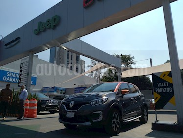 Foto venta Auto usado Renault Captur Intens Aut (2018) color Gris Metalico precio $280,000