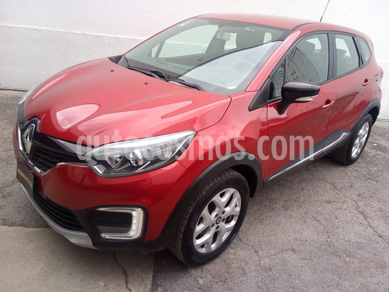 Renault Captur Intens usado (2018) color Rojo Pasion precio $292,000