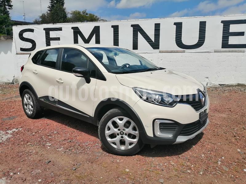 Foto Renault Captur Intens usado (2018) color Blanco precio $210,000