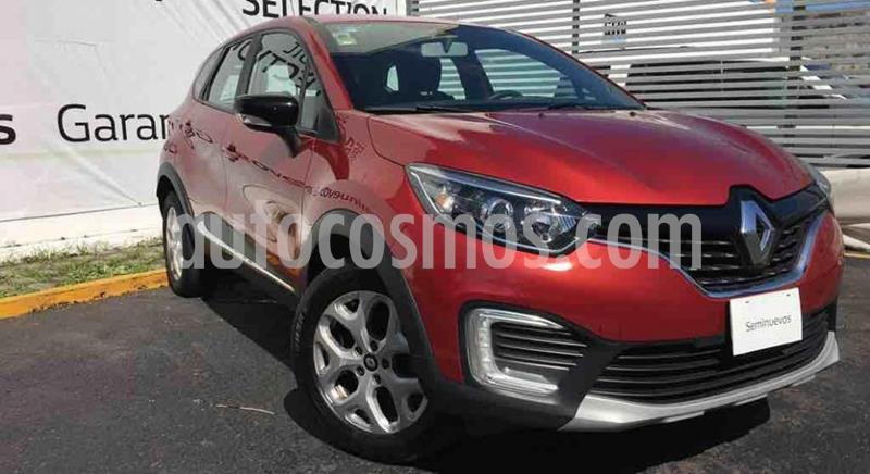 Renault Captur Intens usado (2018) color Rojo Pasion precio $220,000