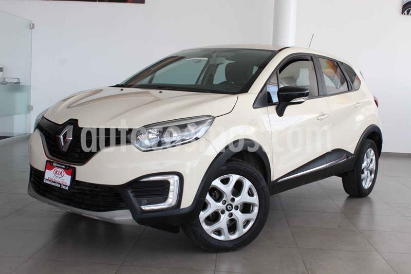 Renault Captur Intens usado (2018) color Crema precio $219,000