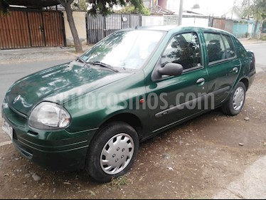 Renault Clio ll Sedan 1.6 Authentique  usado (2001) color Verde precio $1.200.000