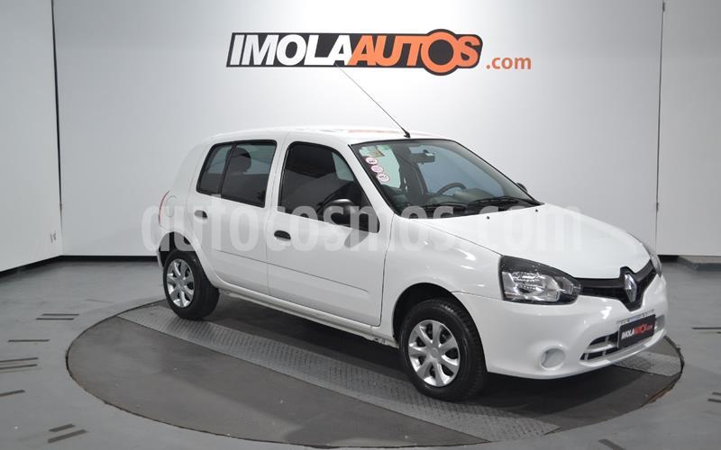 Renault Clio Mio 5P Confort Plus usado (2014) color Blanco Glaciar precio $599.000