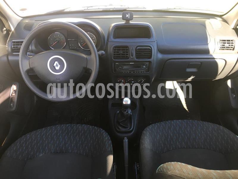 Renault Clio Mio 5P Confort Pack Sat usado (2016) color Blanco precio $500.000
