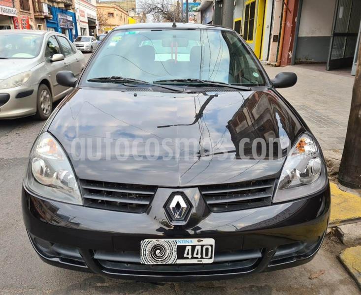 Renault Clio Mio 5P Confort  usado (2009) color Negro precio $350.000
