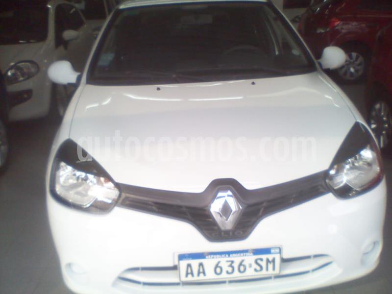 Renault Clio Mio 5P Dynamique Sat usado (2016) color Blanco precio $535.000