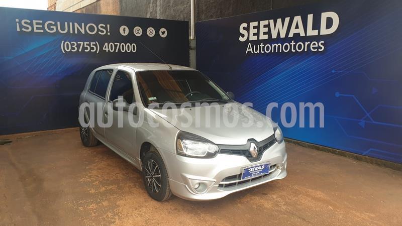 Renault Clio Mio 5P 1.2 Confort Plus usado (2014) color Gris Plata  precio $485.000