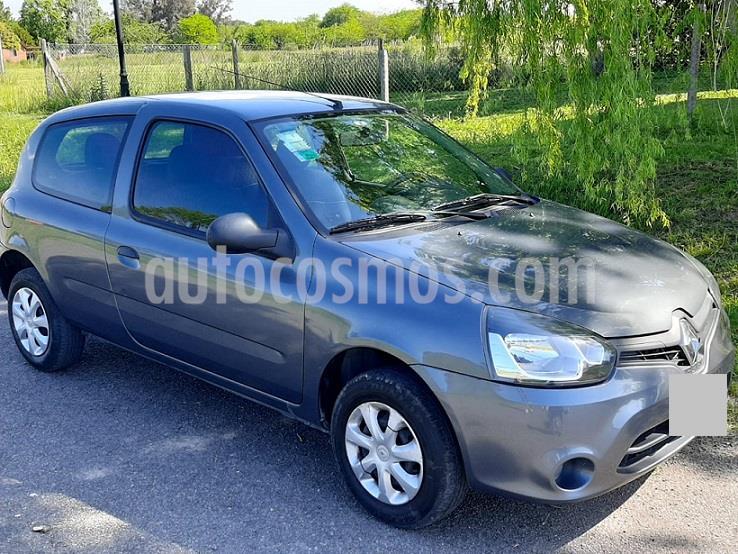 Renault Clio Mio 3P Confort Pack usado (2014) color Gris precio $592.000