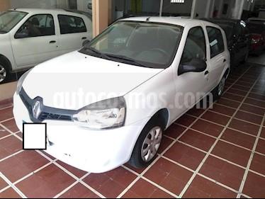 Renault Clio Mio 5P Dynamique Sat usado (2016) color Blanco precio $420.000