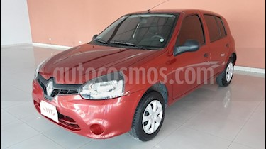 Renault Clio Mio 5P Dynamique Sat usado (2013) color Rojo precio $350.000