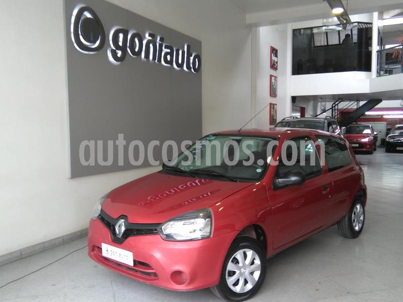 Renault Clio Mio 3P 1.2 Confort usado (2014) color Bordo precio $538.000