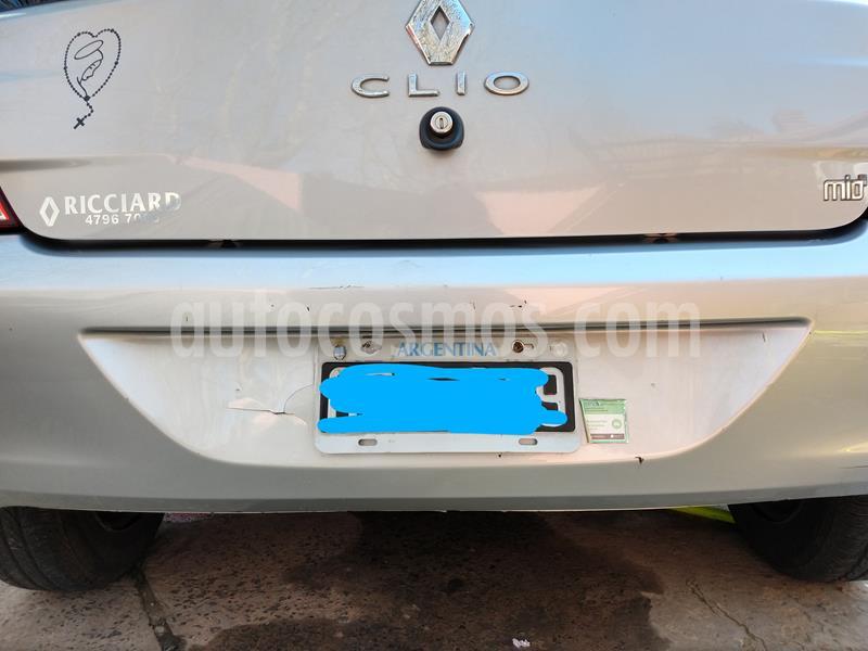 Renault Clio Mio 5P Confort Plus usado (2014) color Gris precio $470.000