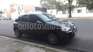 Renault Clio Mio 5P Confort Pack Sat usado (2016) color Negro Nacre precio $420.000