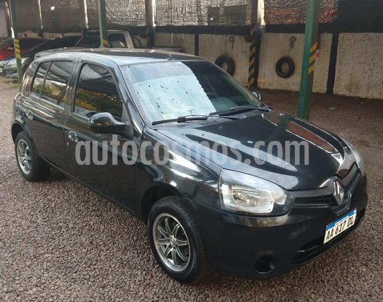 Renault Clio Mio 5P Confort Pack Sat usado (2016) color Negro Nacre precio $630.000