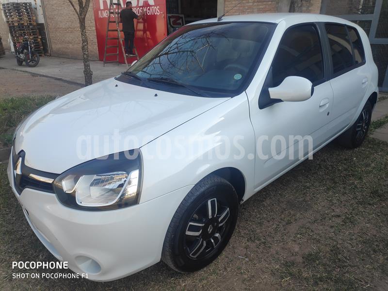 Renault Clio Mio 5P Dynamique Sat usado (2016) color Blanco precio $650.000