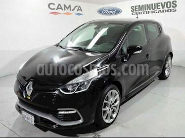 Renault Clio R.S. 200 EDC Privilege Piel usado (2017) color Negro precio $299,000
