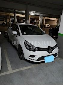 Renault Clio 1.2 Expression usado (2018) color Blanco precio $7.900.000