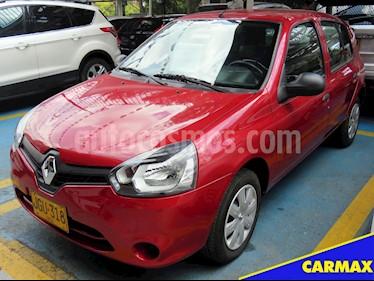 Foto venta Carro usado Renault Clio 1.2L Night & Day (2017) color Rojo Fuego precio $26.900.000