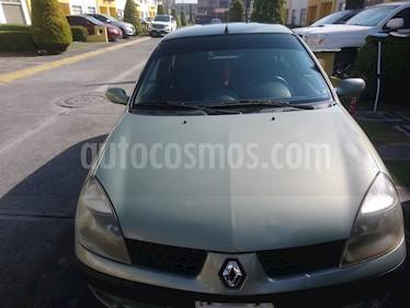 Foto venta Auto usado Renault Clio 1.6L Authentique Ac Aut (2004) color Verde Oliva precio $39,000