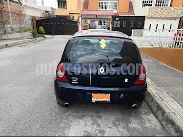 Foto venta Auto usado Renault Clio 1.6L Expression (2008) color Azul precio $55,000