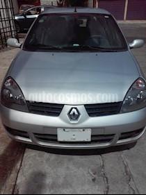 Foto venta Auto usado Renault Clio 1.6L Expression (2009) color Plata precio $59,000