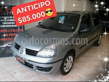 Foto venta Auto usado Renault Clio 3P 1.2 Authentique (2008) color Gris Oscuro precio $85.000