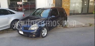 Foto venta Auto usado Renault Clio 3P 1.6 Sportway (2009) color Azul Crepusculo precio $169.000