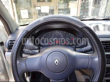 Foto venta Auto usado Renault Clio 5P 1.2 Authentique Pack I (2003) color Gris Acero precio $125.000