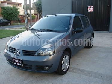 Foto venta Auto Usado Renault Clio 5P 1.2 Authentique Pack II (2009) color Gris Acero precio $169.000