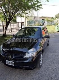 Renault Clio 4P 1.2 2 Tric RN usado (2011) color Negro precio $295.000