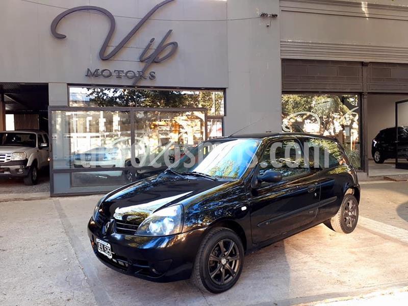 Renault Clio 3P 1.2 Authentique usado (2010) color Negro precio $580.000