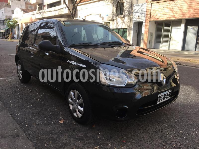 Renault Clio 3P 1.2 Pack I usado (2015) color Negro precio $465.000