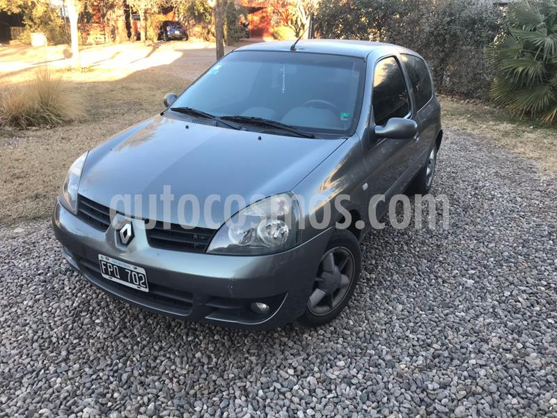 Renault Clio 3P 1.2 Bic Authentique usado (2006) color Gris Oscuro precio $280.000