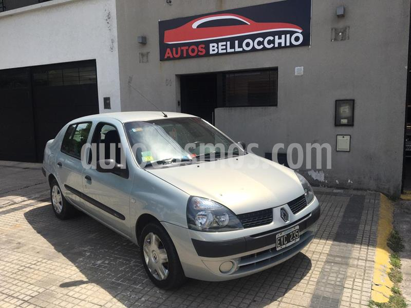 Renault Clio 4P 1.6 Tric Confort usado (2004) color Gris precio $420.000