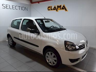 Renault Clio 3P 1.2 Campus usado (2012) color Blanco Glaciar precio $380.000
