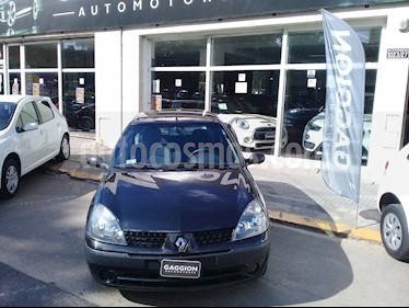 foto Renault Clio 5P 1.2 Authentique Pack I usado (2004) color Negro precio $170.000