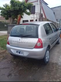 Renault Clio 5P 1.2 Authentique Pack I usado (2010) color Gris Acero precio $230.000