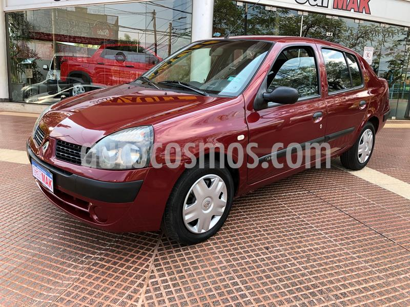 Renault Clio 4P 1.6 Tric Privilege usado (2006) color Rojo precio $585.000