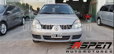 Renault Clio 5P 1.2 Bic Authentique Pack usado (2007) color Gris Claro precio $220.000