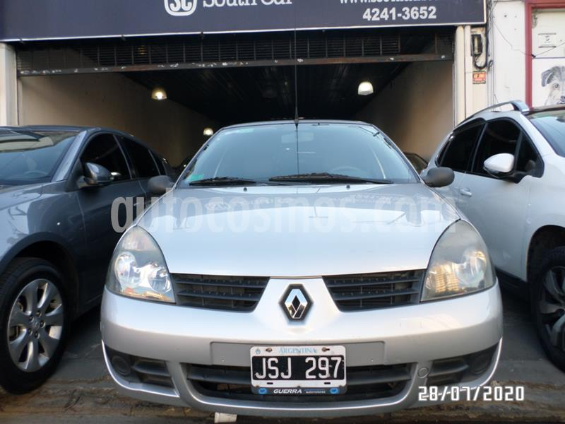 Renault Clio 5P 1.2 Bic Authentique Pack usado (2011) color Gris Claro precio $515.000