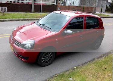 Foto venta Carro usado Renault Clio Campus Ac (2015) color Rojo precio $21.900.000