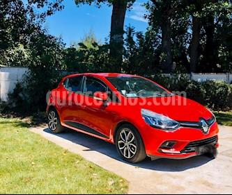 Renault Clio 1.2 Expression Color Rojo usado (2017) color Rojo Fuego precio $6.750.000