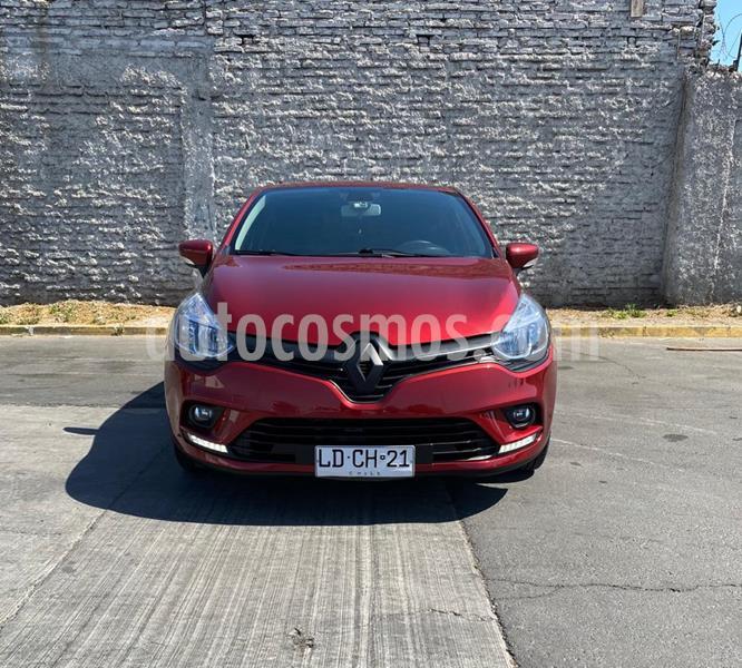 Renault Clio 1.2 Expression Color Rojo usado (2019) color Rojo precio $8.850.000