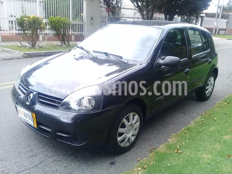 Renault Clio Campus Ac usado (2013) color Negro precio $22.800.000