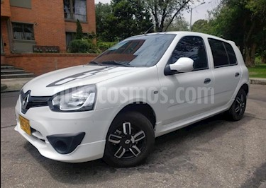 Renault Clio 1.2L Sport usado (2017) color Blanco precio $25.500.000